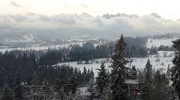 Widok na Tatry z Kotelnicy Białczańskiej