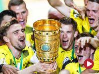 Puchar Niemiec, finał: Eintracht Frankfurt – Borussia Dortmund (skrót)