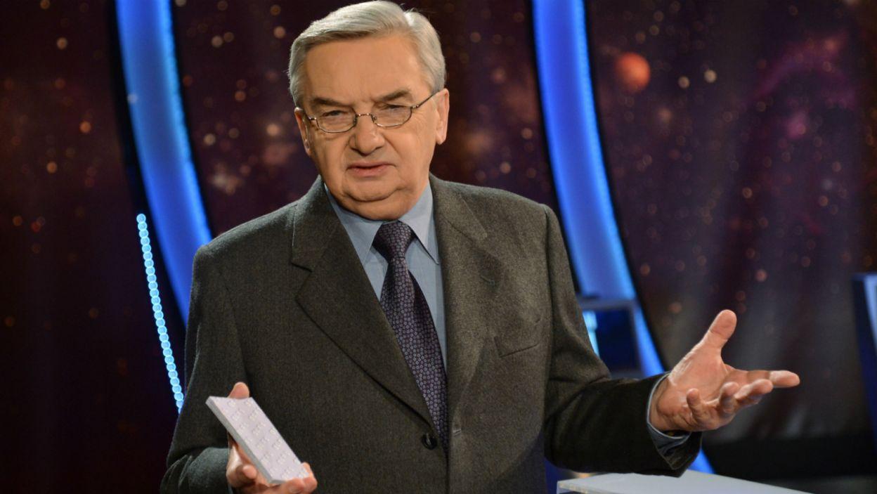 Pytania zawsze zadaje prowadzący program Tadeusz Sznuk… (fot. TVP)