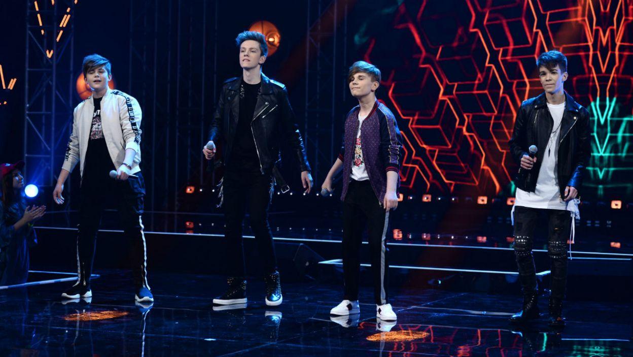 Kuba, Tomek, Maks i Mateusz, czyli 4 Dreamers (fot. TVP)