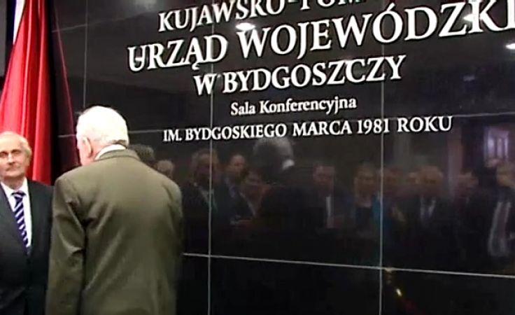Wydarzenia Bydgoskiego Marca wspominano i uczczono bez podziałów