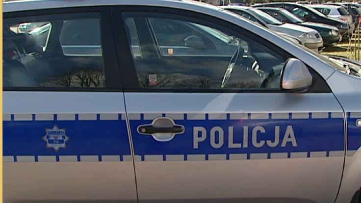 Policja zatrzymała wandala