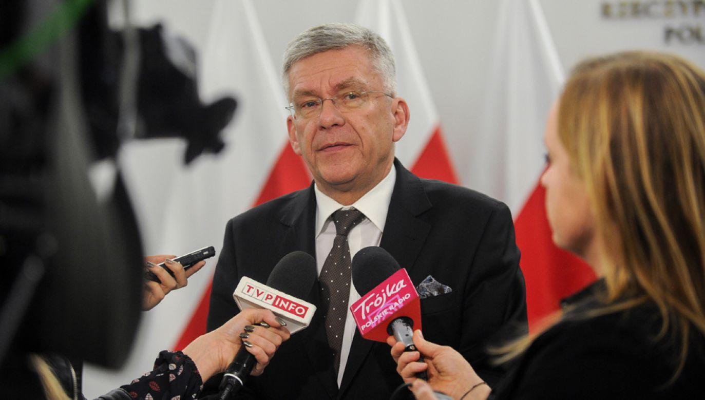 Marszałek Senatu Stanisław Karczewski (fot. PAP/Marcin Obara)
