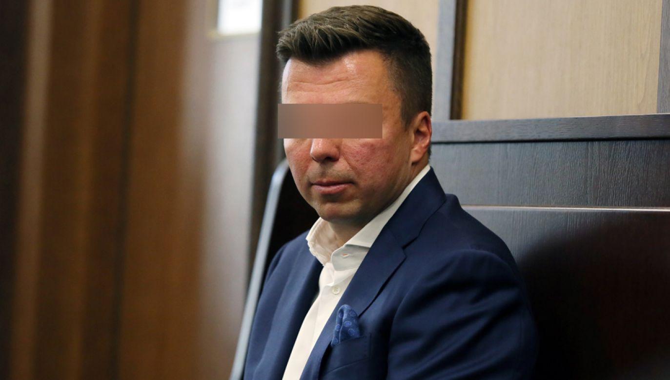 """Marek F. zlecił nielegalne podsłuchiwanie osób w restauracji """"Sowa i Przyjaciele"""" (arch.PAP/Tomasz Gzell)"""