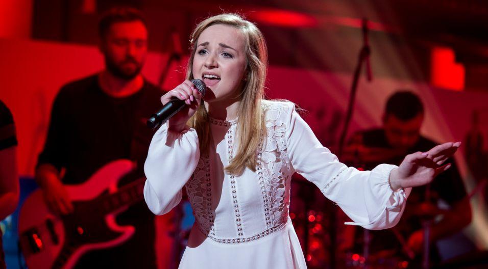 20-letnia Daria Kowolik jest studentką wokalistyki estradowej w Akademii Muzycznej w Łodzi (fot. Jan Bogacz/TVP)