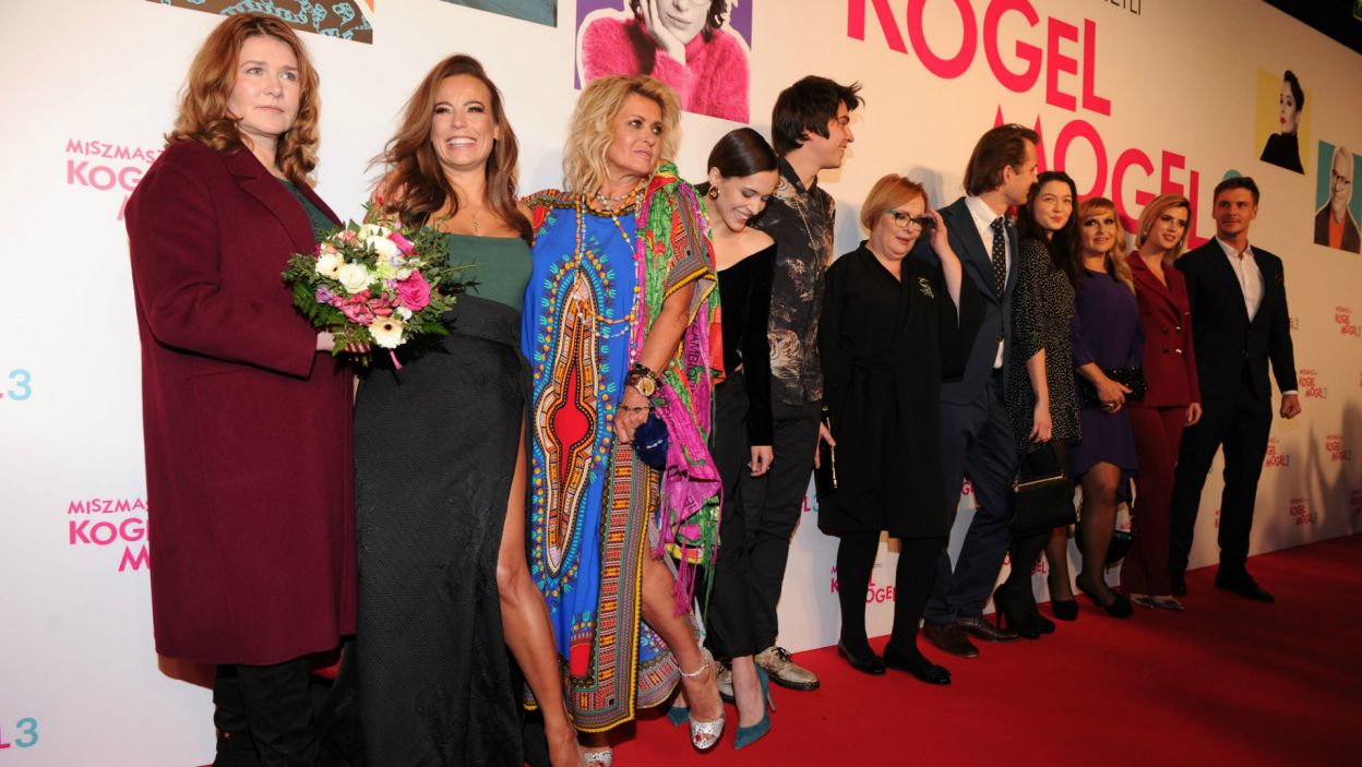 """Po 30 latach fani w końcu się doczekali, właśnie odbyła się uroczysta premiera filmu """"Miszmasz, czyli Kogel Mogel 3"""" (fot. N. Młudzik/TVP)"""