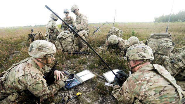 Żołnierze NATO w Polsce na początku 2017 roku. (fot. Reuters Pictures/Ints Kalnins)
