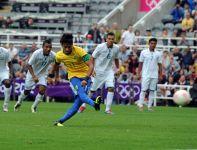 Neymar zdobył drugą bramkę dla Brazylii (fot.PAP/EPA)