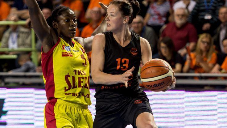 Weronika Gajda (P) i Nikki Greene (L) (fot. PAP)