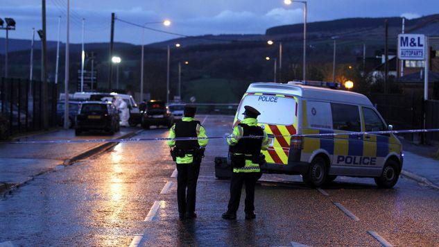 Policja wszczęła dochodzenie w sprawie ataku (fot. Reuters/Cathal McNaughton)