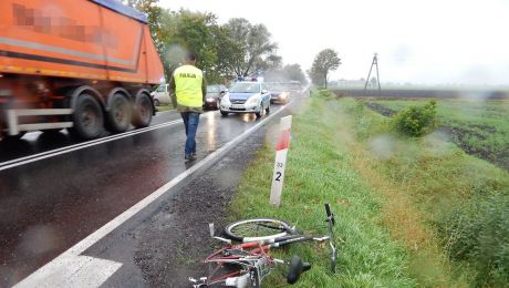Rowerzystka nie miała szans w zderzeniu z autem