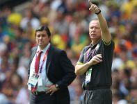 Trener Mano Menezes nie krył irytacji grą swoich piłkarzy (fot. Getty Images)