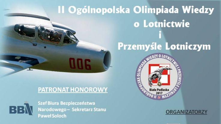 II Ogólnopolska Olimpiada Wiedzy o Lotnictwie i Przemyśle Lotniczym
