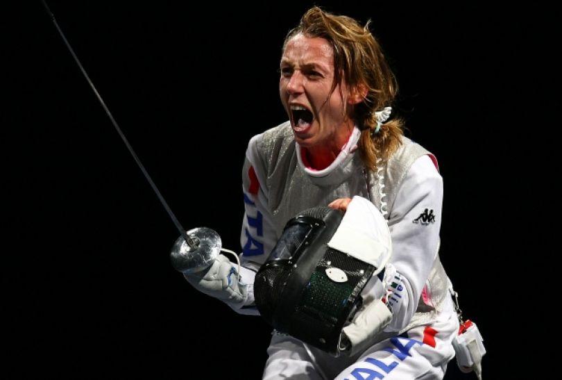 Valentina Vezzali – mistrzyni olimpijska we florecie (fot. Getty Images)
