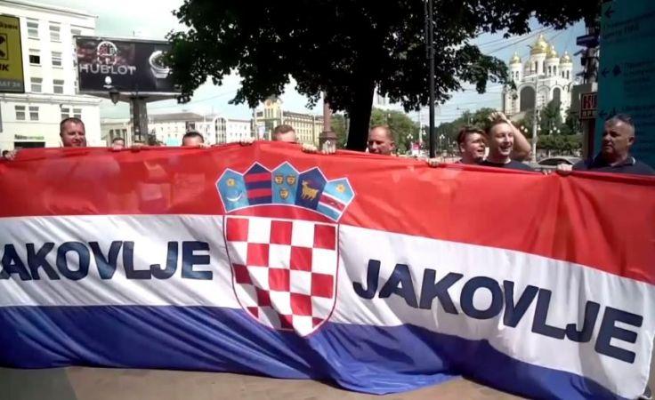 Największą grupę na granicy stanowili dotychczas Chorwaci (fot. Associated Press)