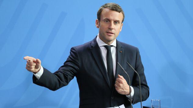 Prezydent Francji zabrał głos po ataku w Manchesterze (fot. Cuneyt Karadag/Anadolu Agency/Getty Images)