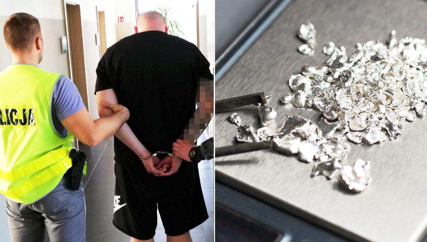 Przyłapany 29-latek przyznał się do kradzieży (fot. policja.pl/Shutterstock/Sergey Molchenko)