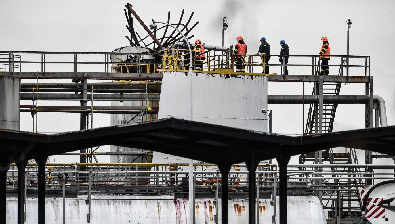 W eksplozji zginęło sześć osób (fot. PAP/EPA/FILIP SINGER)