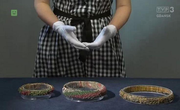 Średniowieczne wianki tekstylne