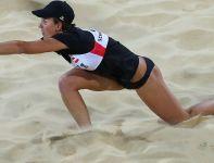Austriaczki Schwaiger i Schwaiger wygrały z Rosjankami Wasiną i Wozakową (fot. Getty Images)