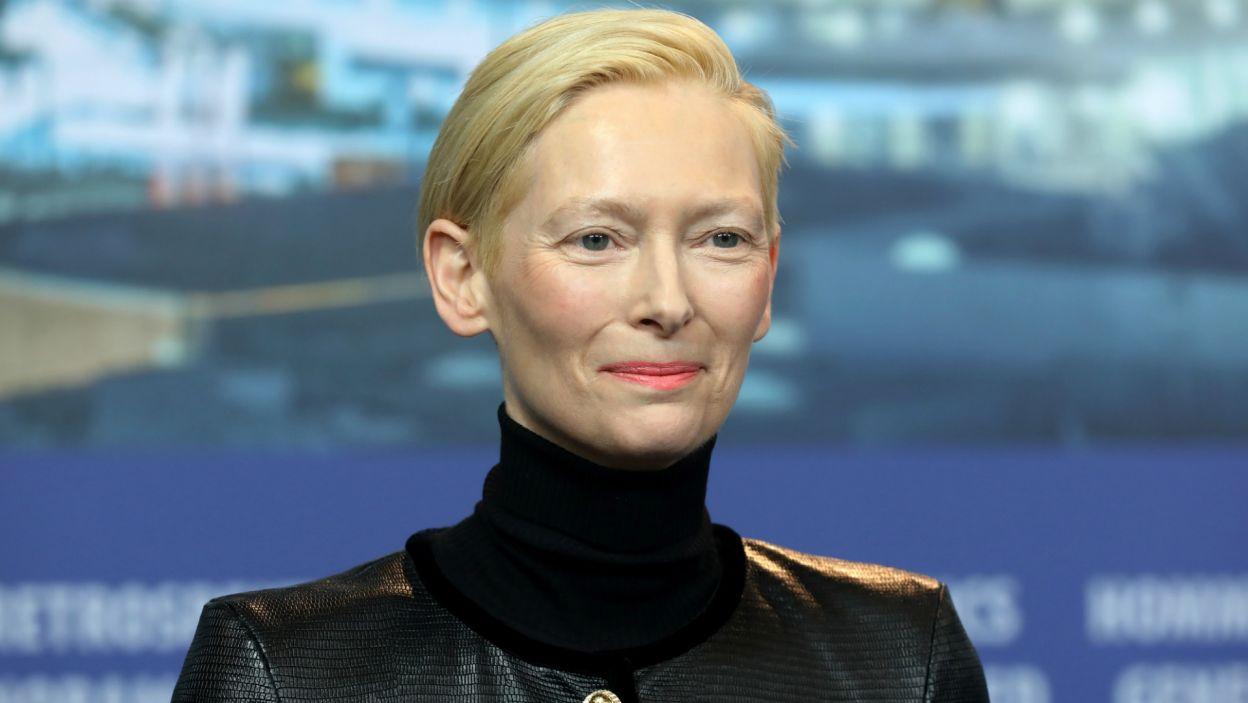 Tilda Swinton (fot. EPA/FELIPE TRUEBA)