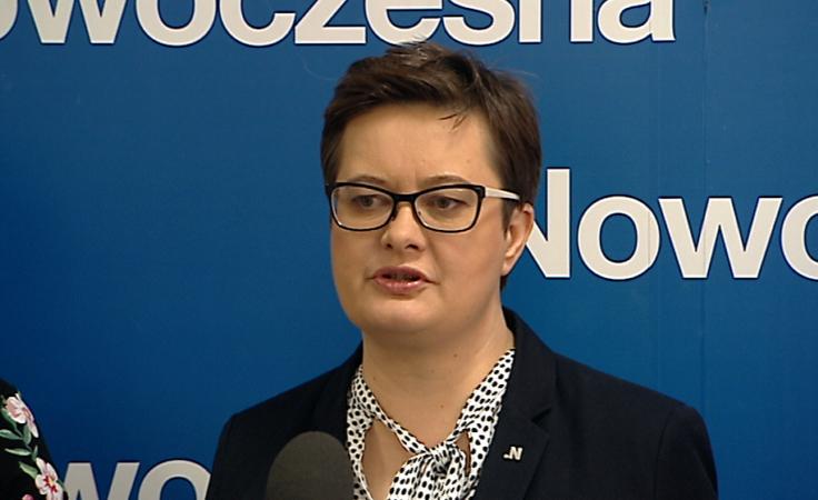 Katarzyna Lubnauer - przewodnicząca Nowoczesnej na Podkarpaciu