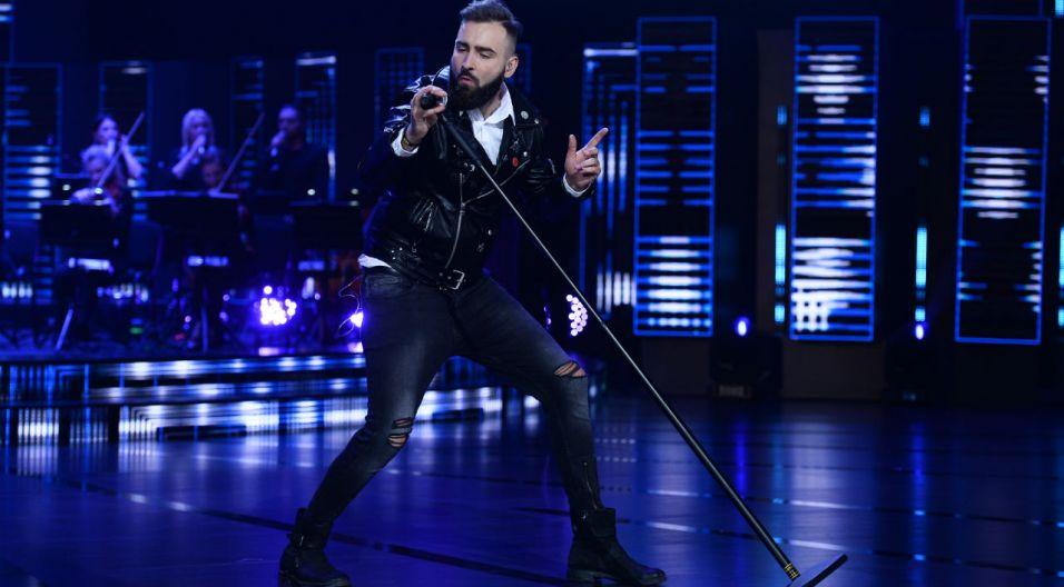 """""""Wiem"""" w wykonaniu zespołu Sen było prawdziwym show (fot. TVP)"""