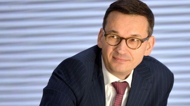 Wicepremier Morawiecki wyraził zadowolenie z pracy służby celno-skarbowej (fot. PAP/Darek Delmanowicz)