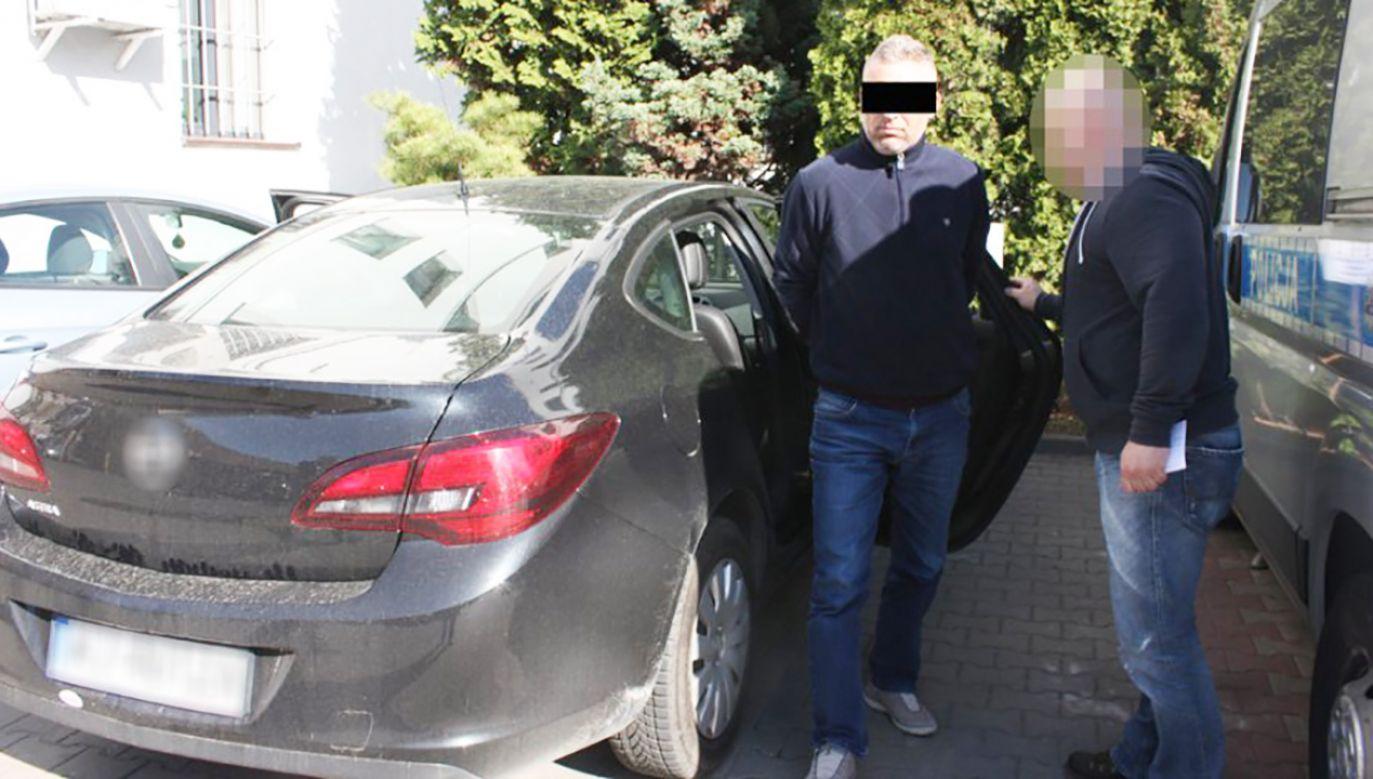 Zatrzymany będzie też musiał zapłacić mandat za przekroczenie prędkości (fot. policja.pl)