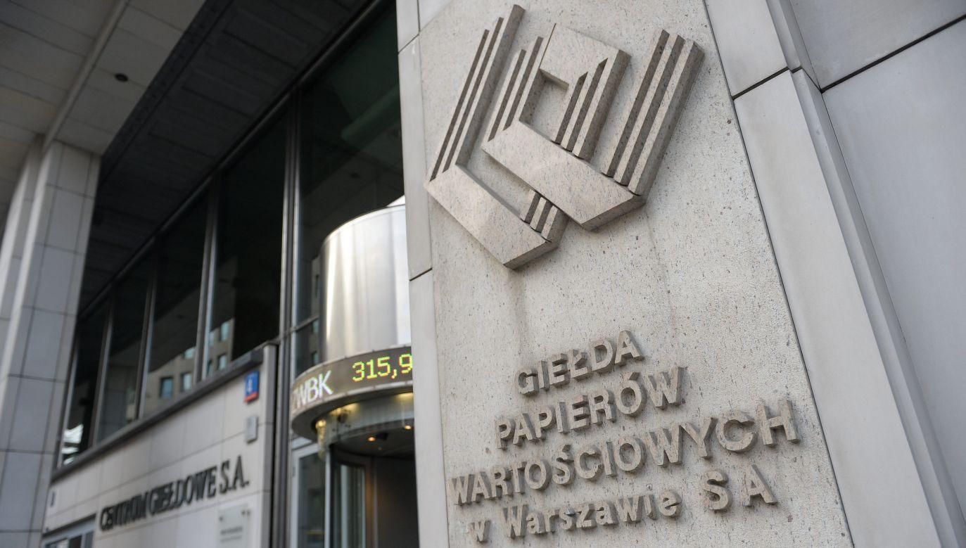 Możliwe, że współpraca między GPW, a rządem zostanie zwiększona (fot. Marcin Obara/PAP)