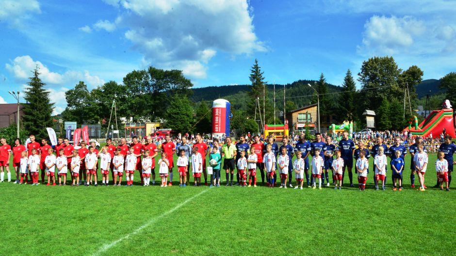 Mecz charytatywny piłkarskiej reprezentacji TVP 3 Kraków, Zawoja, 8.07.2018