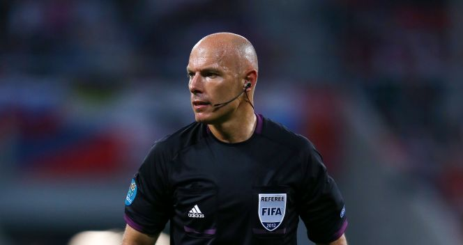 Sędzią meczu był Howard Webb (fot. Getty Images)