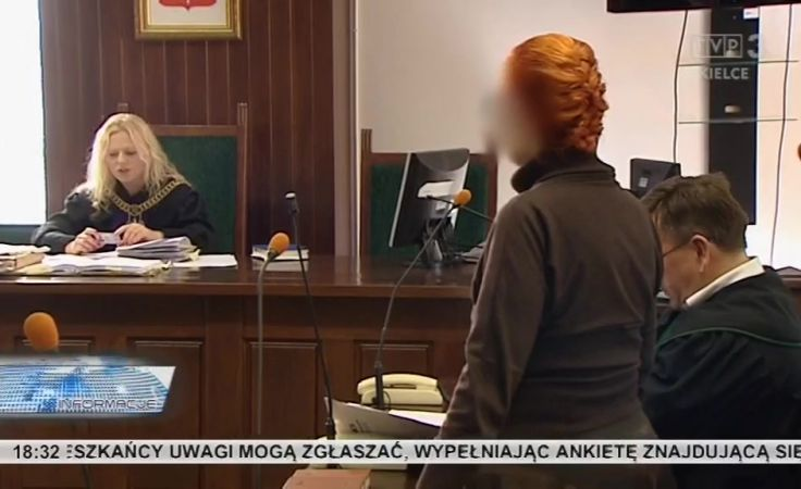 Bankierka przed sądem