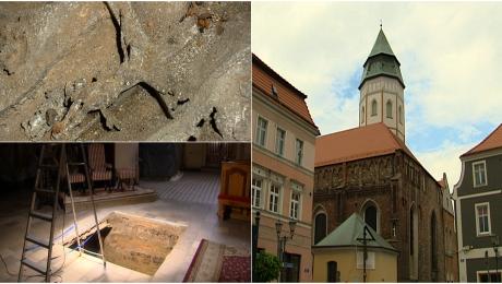 W kościele odkryto szczątki dwóch osób sprzed ponad 400 lat