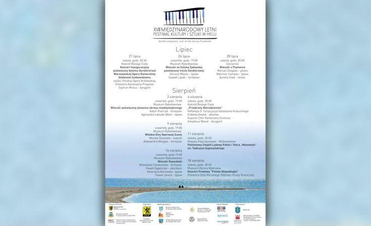 XVIII Międzynarodowy Letni Festiwal Kultury i Sztuki w Helu