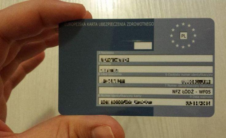 Karta wydawana jest od ręki, bezpłatnie w siedzibie NFZ w Łodzi, Sieradzu, Skierniewicach i Piotrkowie Trybunalskim.  Fot. ŁWD