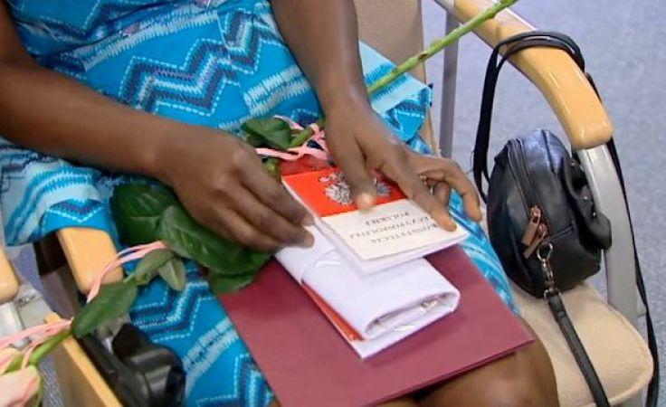 Mieszkańcy regionu otrzymali akt nadania obywatelstwa