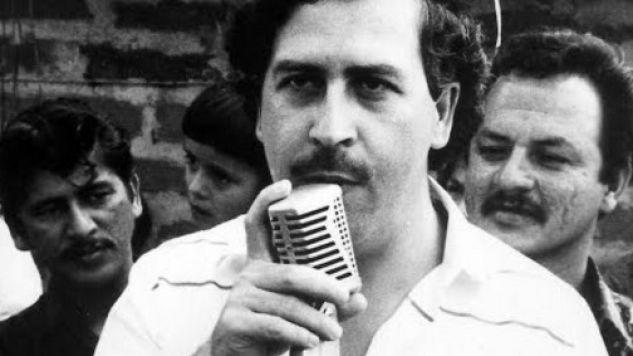 Kolumbijski baron narkotykowy Pablo Emilio Escobar Gaviria (1949-1993)  (fot.PAP/Newscom)