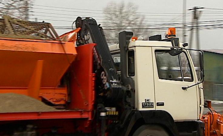 Pierwszy śnieg i oblodzenia na drogach regionu