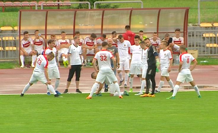 Piłkarscy trzecioligowcy trenują przed nowym sezonem