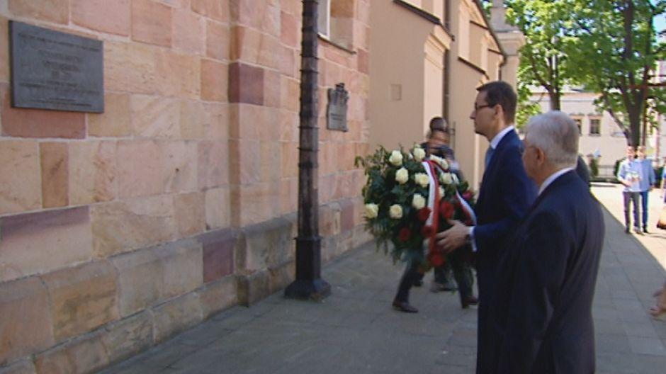 Premier Morawiecki z wizytą w świętokrzyskiem - Polska jest jedna