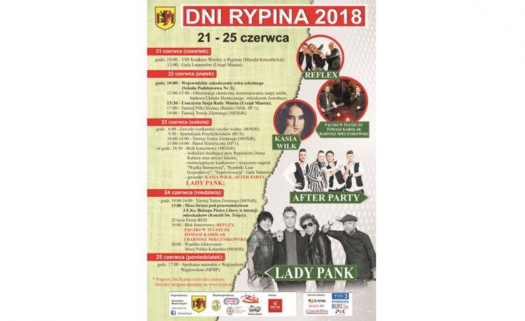 Program Dni Rypina 2018