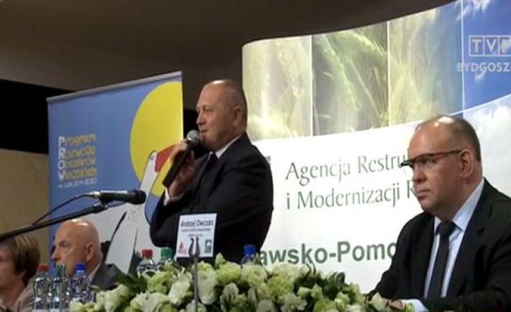 Z ministrem Sawickim mówili o formach pomocy rolnikom