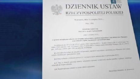 Premier podpisał rozporządzenie. Wybory samorządowe 21 października