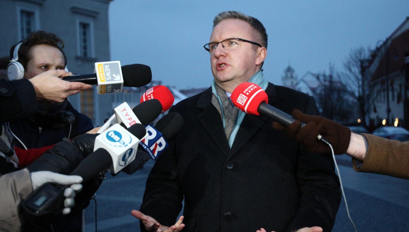 Szef Gabinetu Prezydenta Krzysztof Szczerski poinformował o spotkaniach Andrzeja Dudy (fot. PAP/Leszek Szymański)