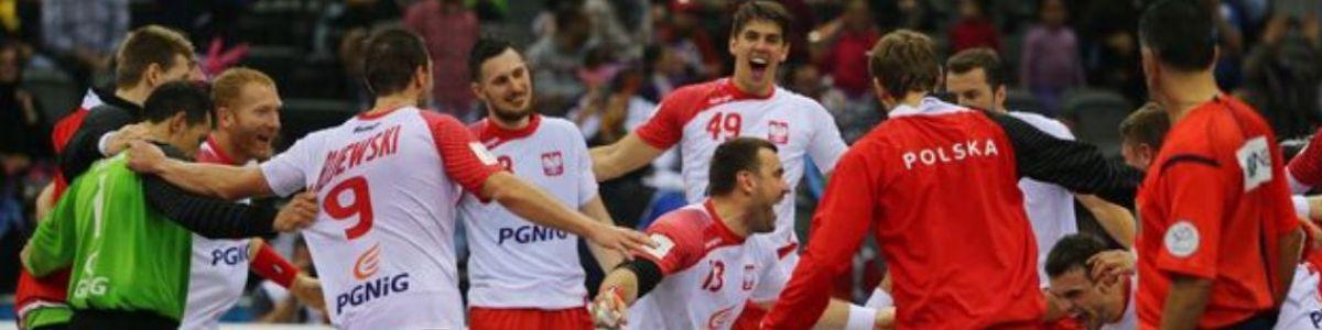 Piłka ręczna mężczyzn - Mistrzostwa Świata: Polska – Katar