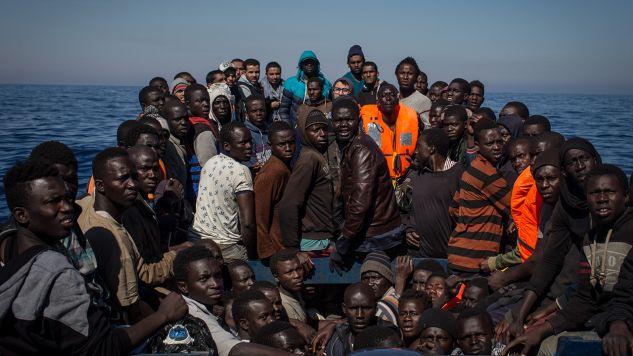 Blisko 70 proc. Polaków nie chce wpuszczać do Polski imigrantów z Bliskiego Wschodu i Afryki Północnej (fot. Chris McGrath/Getty Images)