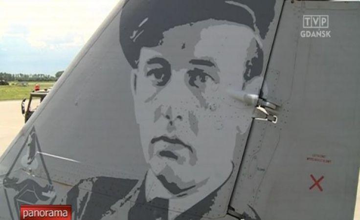 Wizerunek asa polskiego lotnictwa na MIG-u
