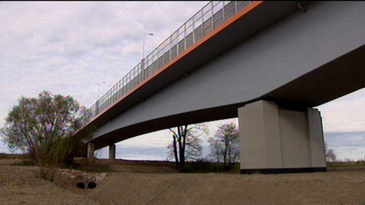 Most został  wybudowany za 170 milionów złotych
