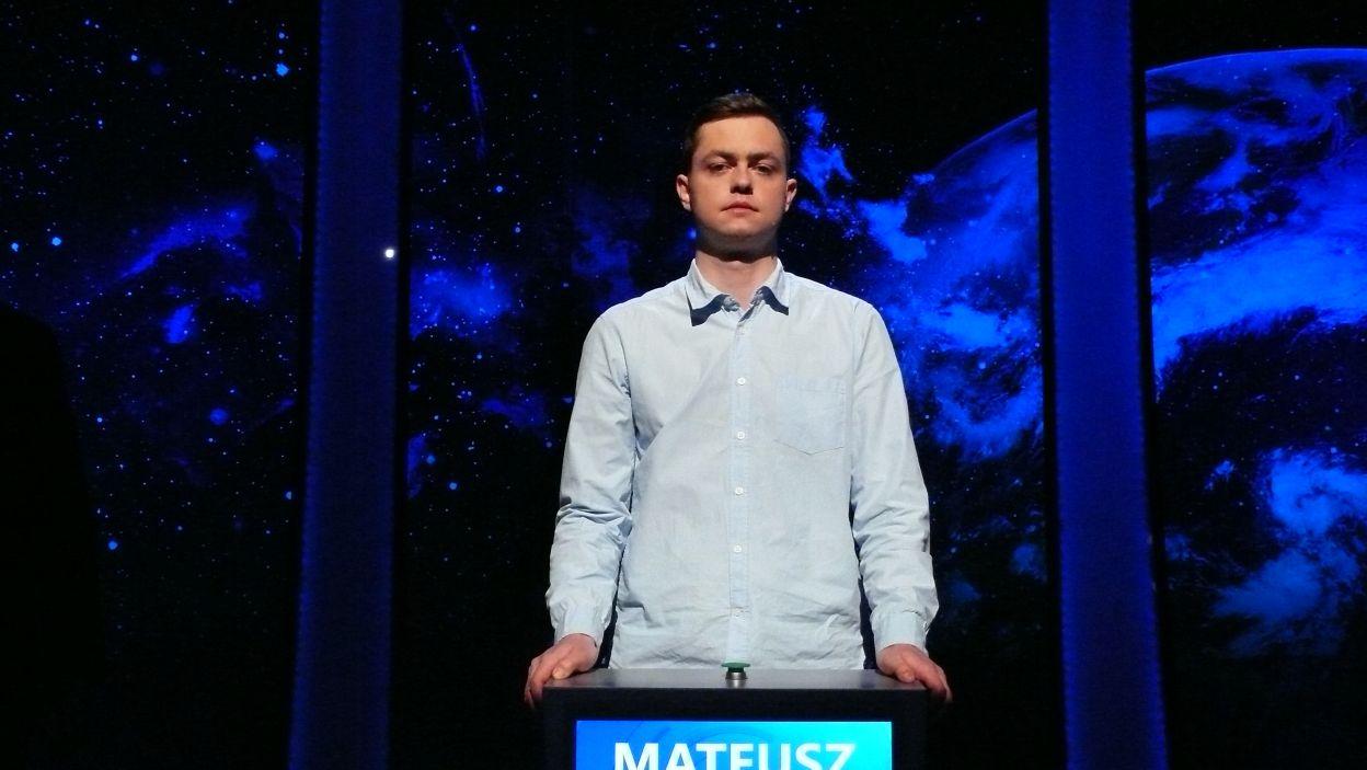 Mateusz Marzec - zwycięzca 2 odcinka 106 edycji